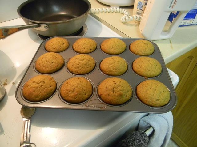 Baked Pumpkin Cupcakes