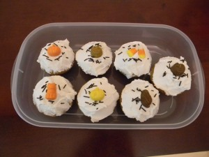 Bake Sale Pumpkin Cupcakes