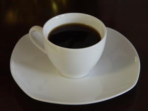 picture of black coffee - what is in non-dairy creamer