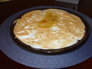 picture of Lemon Pie, the best way to use lemons