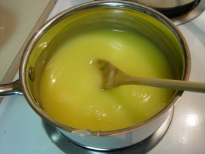 Yellow Lemon Pie Filling