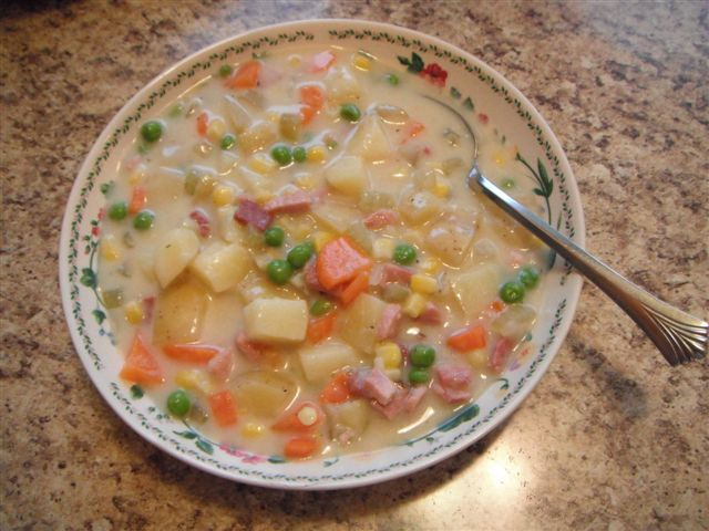 Picture of Creamy Ham Soup