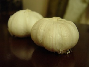 picture of garlic cloves - storing garlic