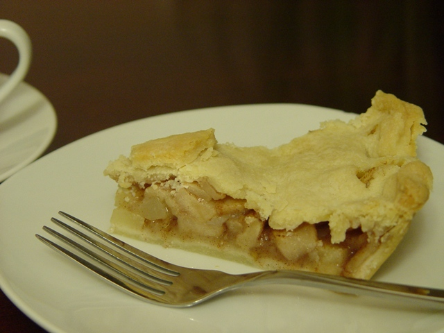 picture of an apple pie slice