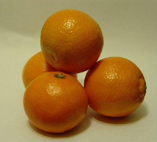 Picture of clementines - storing citrus