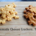 another lunch: recipe | how I make homemade cheese crackers