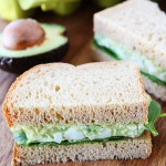 Avocado Egg Salad Recipe | Avocado Egg Salad Sandwich | Two Peas & Their Pod