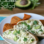 Healthy Avocado Chicken Salad - Family Fresh Meals