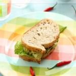 Dishesfrommykitchen: CREAMY AVOCADO POTATO SALAD/SANDWICH (Stepwise)