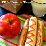 Back to School Healthy Lunch Recipe: PB&J Banana Dogs | The eMeals Blog
