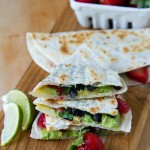 Strawberry Quesadillas Recipe — La Fuji Mama