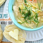Homemade Crock Pot Chicken Noodle Soup