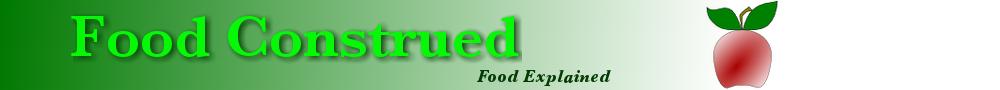 Food – Construed