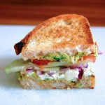 food and other stuff: Greek Salad Sandwich