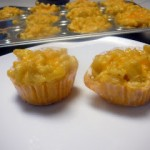 Mostly Food and Crafts: Crazy Cooking Challenge - Macaroni & Cheese Muffins