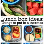 Lunch Box Ideas: Things to put in a thermos » My Mommy Style