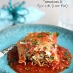 Leftover Turkey Lasagna Roll Recipe w/ Sun-Dried Tomatoes & Spinach
