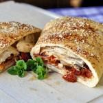 Turkey Club Stromboli - Rock Recipes - Rock Recipes