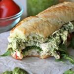 Chicken Pesto Sandwich - Damn Delicious