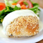 Chicken Pillows with Creamy Parmesan Sauce | Mel's Kitchen Cafe
