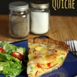 Turkey Club Quiche - Cupcakes & Kale Chips