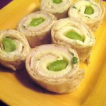 Munch: Turkey Harvarti Pinwheels with Basil Mayo