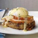 Turkey & Stuffing Eggs Benedict Recipe | Taste of Home