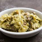 Lemon Pesto Turkey Pasta Recipe | SimplyRecipes.com