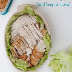How to reheat turkey leftovers and keep them moist. | Simple Bites