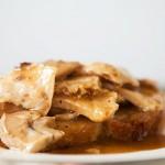 Hot Turkey Sandwich, Open Faced Turkey and Gravy Sandwich Recipe | SimplyRecipes.com