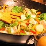 Tonight's Dinner: Turkey stir-fry