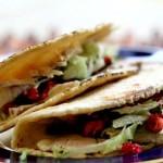 Turkey Tacos with Cranberry Salsa Recipe | SimplyRecipes.com