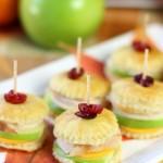 Thanksgiving Turkey & Apple Pastry Bites!  - Pizzazzerie