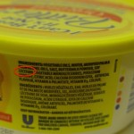 Photo of Ingredient Label Containing Soy Lecithin